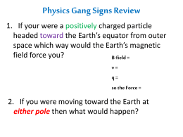 Physics Gang Signs Review