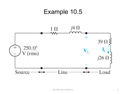 Calculating Average and Reactive Power