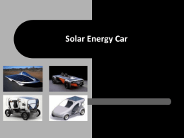 SolarCar - ROYAL MECHANICAL