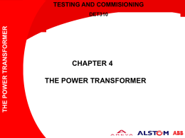 Chapter 4_Power Transformer