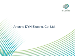 Arteche DYH Electric, Co. Ltd.
