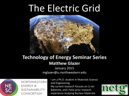 The Electric Grid - Spark Clean Energy