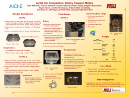 AIChE_CarPosterx - Arizona State University