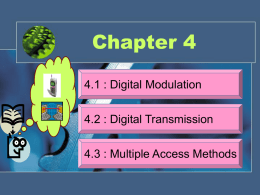Chapter 4_Part 1-Digital Modulation