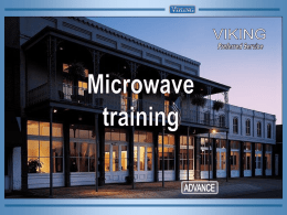 Microwave Training.pps