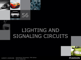 Lighting and Signaling Circuits
