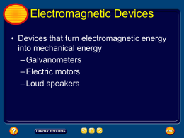 Lesson 3 Electromagnetic Devices and Treansformers File