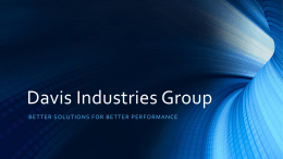 Davis Industries Group, Inc.