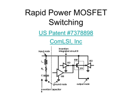 Rapid Power MOSFET Switching