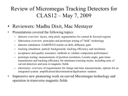 Review- Micromegas Vertex Trackers for CLAS12
