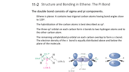 Structure and Bonding in Ethene: The Pi Bond