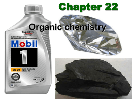 Chapter 22 Organic chemistry