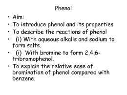 Phenol - wellswaysciences