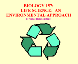 157-Trophic Relationships