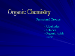 Functional Groups 2