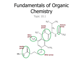 Organic Chemistry: Introduction
