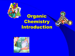 Unit 7A Intro to Organic PPT