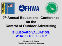 9TH Annual Educational Conference on the Control of Outdoor