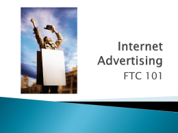 Internet Advertising - affiliate.com online marketing compliance