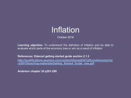 Inflation-intro-and