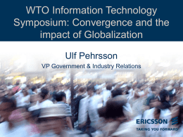 presentation - World Trade Organization