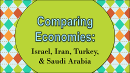 israel-iran-turkey-saudi-arabia-economic-systems