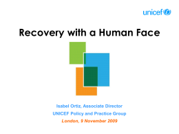 Recovery with a Human Face