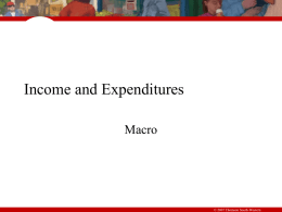Income,Expenditures,AD, AS mod 16 - 21