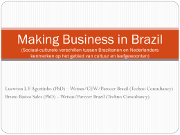 Making business with Brazil (Sociaal