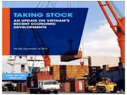 Vietnam Economic Update December 2013