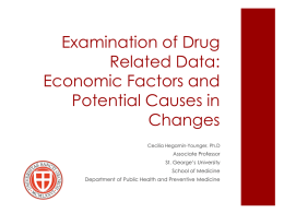 Economic Factors and Drugs