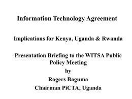 Information Technology Agreement