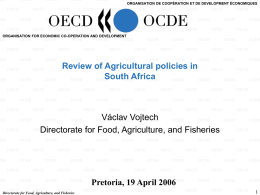 Template for OECD/AGR presentations