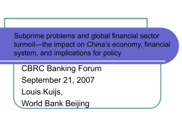 Saving and Investment in China