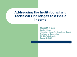 Addressing the Institutional and Technical Challenges to a