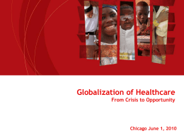 The Role of the Private Sector in Health in Africa