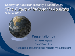 Inaugural Global Supply Chain and Automotive Conference 22
