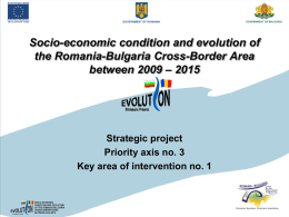 Socio-economic condition and evaluation of the Romania