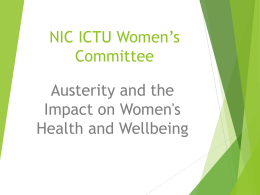 NIC ICTU Women's Committee