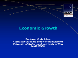 REGIONAL SCORECARD - Australian Graduate School of Management