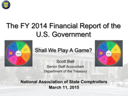 The Financial Report of the United States Government