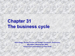 Chapter 31 The business cycle