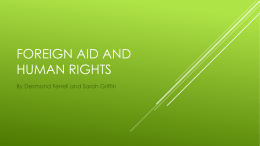 Foreign Aid and Human Rights