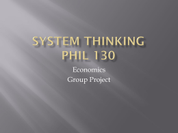 System thinking Phil 130