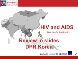 Review in slides_Korea DPR