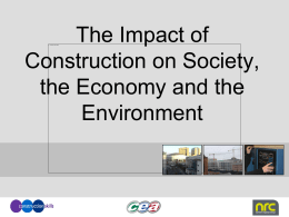 Impact of Construction on Society and the Economy 8