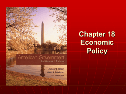 Ch. 18 Economic Policy - St. Francis School District