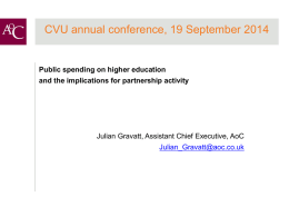 Public spending on higher education and the implications for