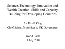 Governing Science & Technology
