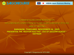 PPT - Thai-Japanese Association